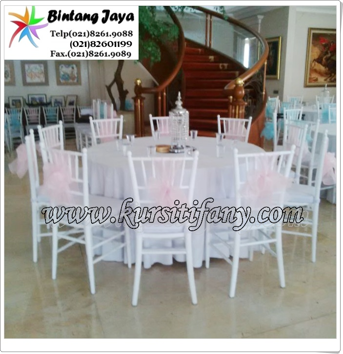 Sewa Kursi Tiffany di Cibubur