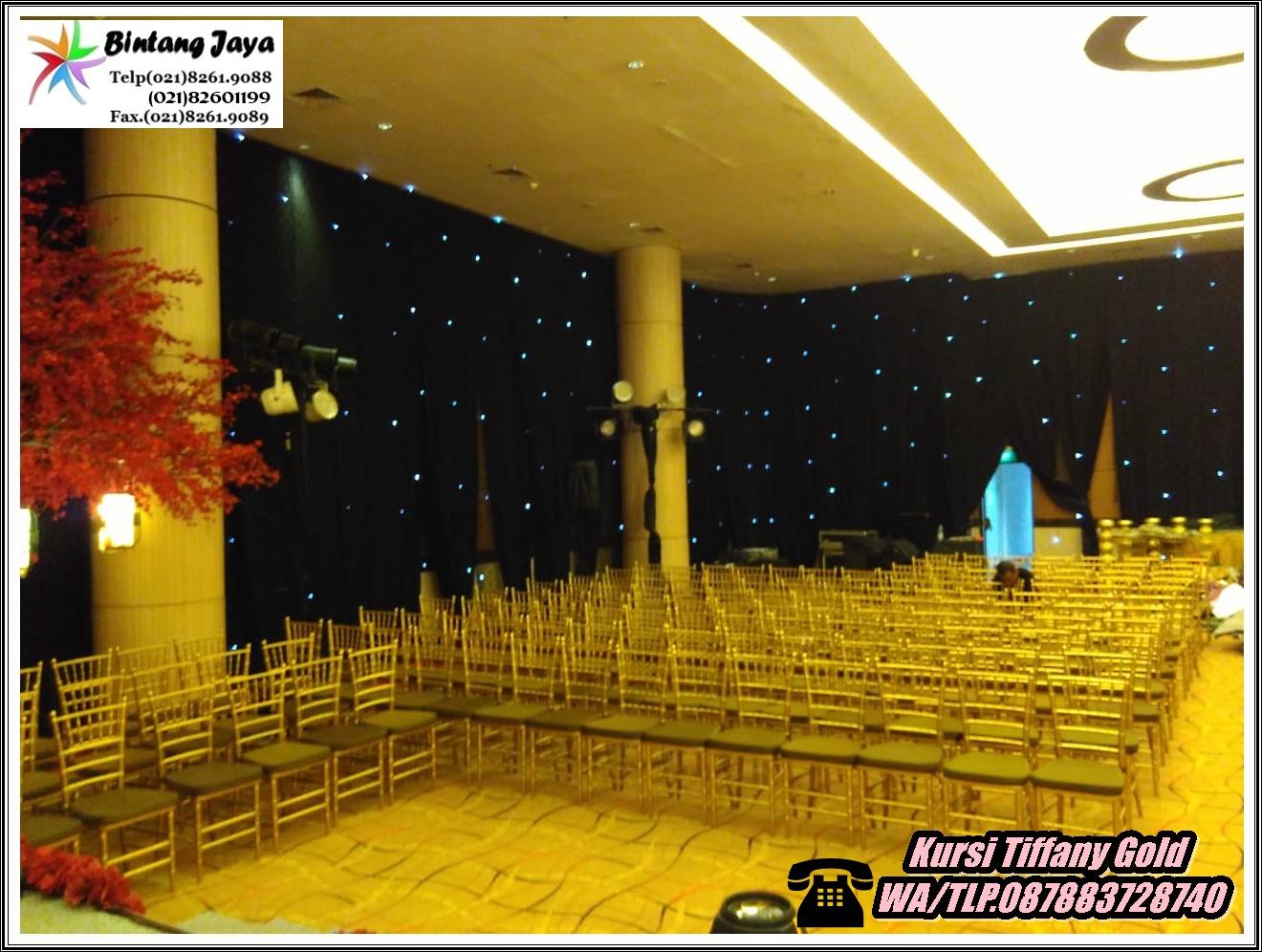 Rental Kursi Tiffany Event Karawang
