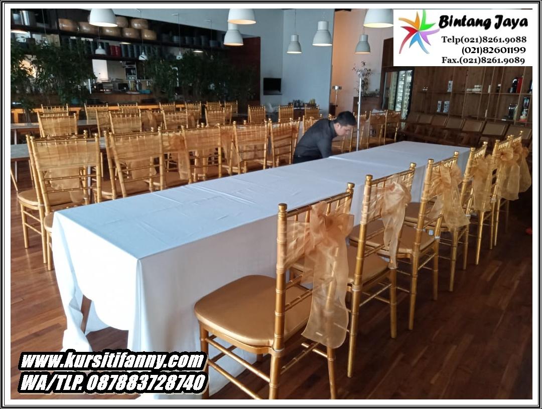 Sewa Kursi Tiffany Gold Cilandak Jakarta Selatan