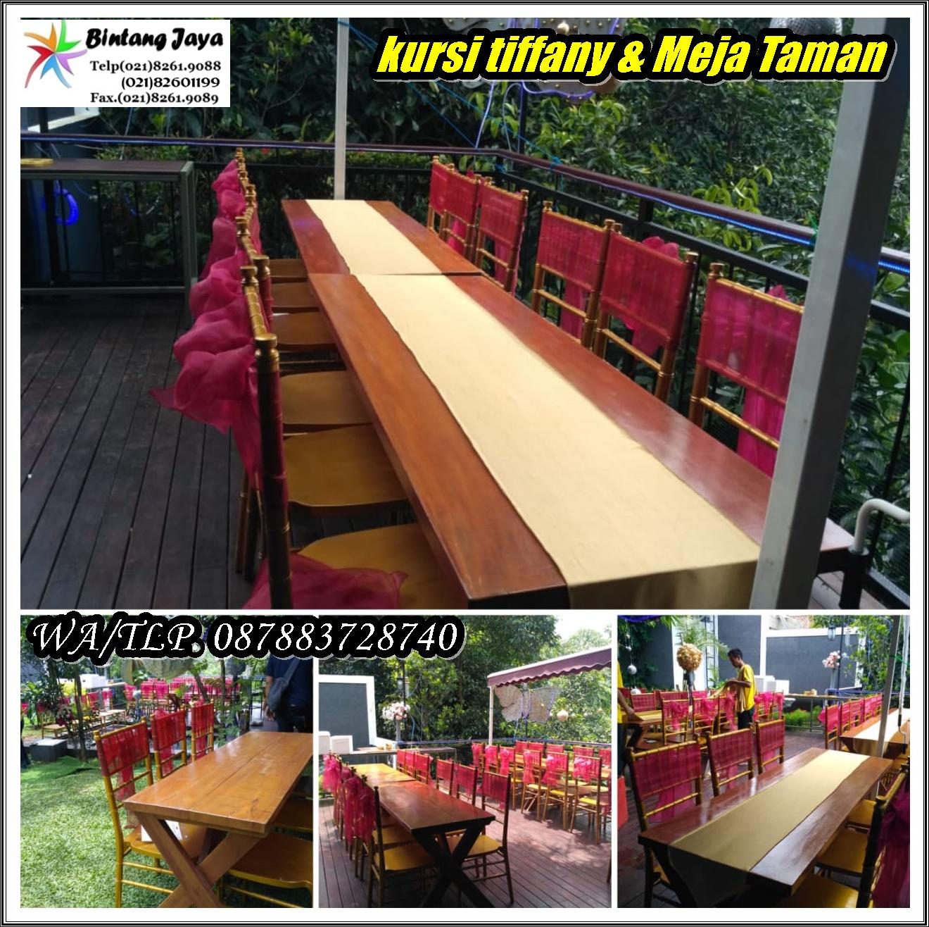 Sewa Kursi Tiffany Rawamangun Jakarta