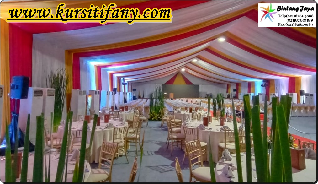 Sewa Kursi Tiffany Event Kemayoran Jakarta