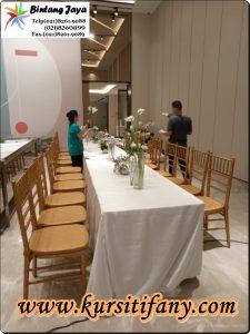 Sewa Kursi Tiffany | Pusat Sewa Kursi