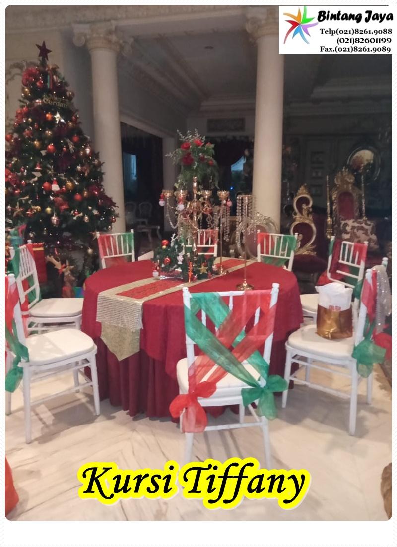 Sewa Kursi Tiffany Event Christmas Jakarta