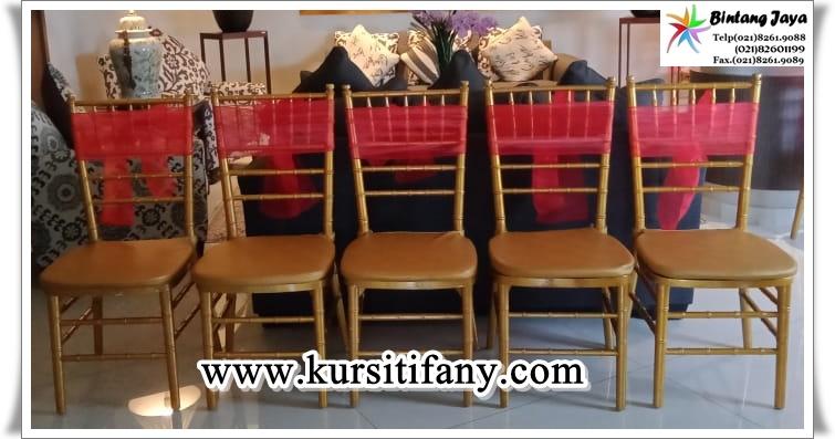 Sewa Kursi Tiffany Event Jamuan Jakarta