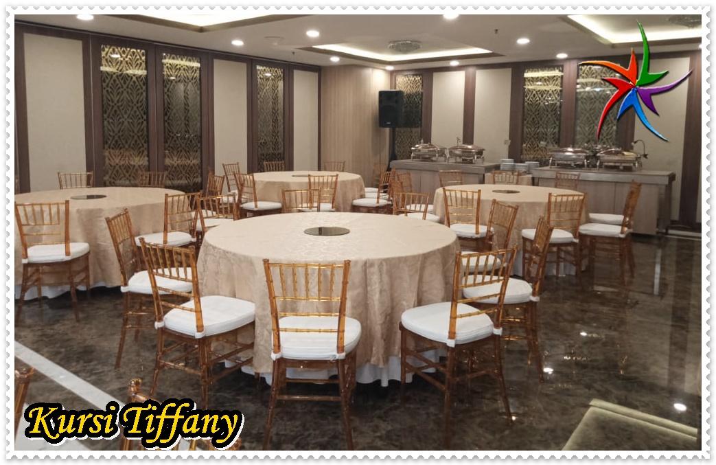 Sewa Round Table dan Kursi Tiffany Jakarta Utara