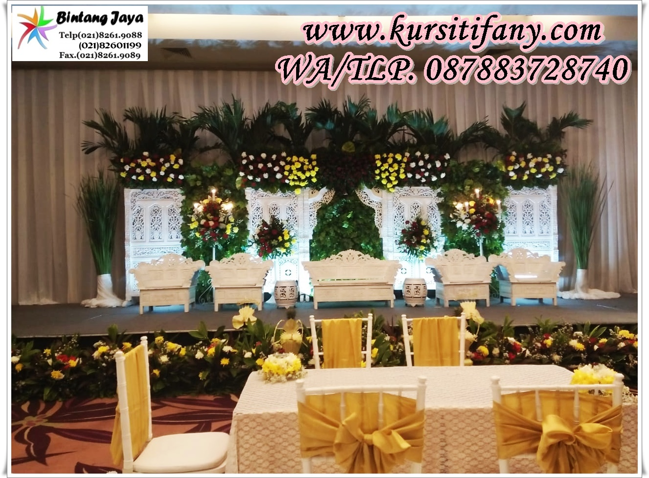 Sewa Kursi Tiffany Event Wedding