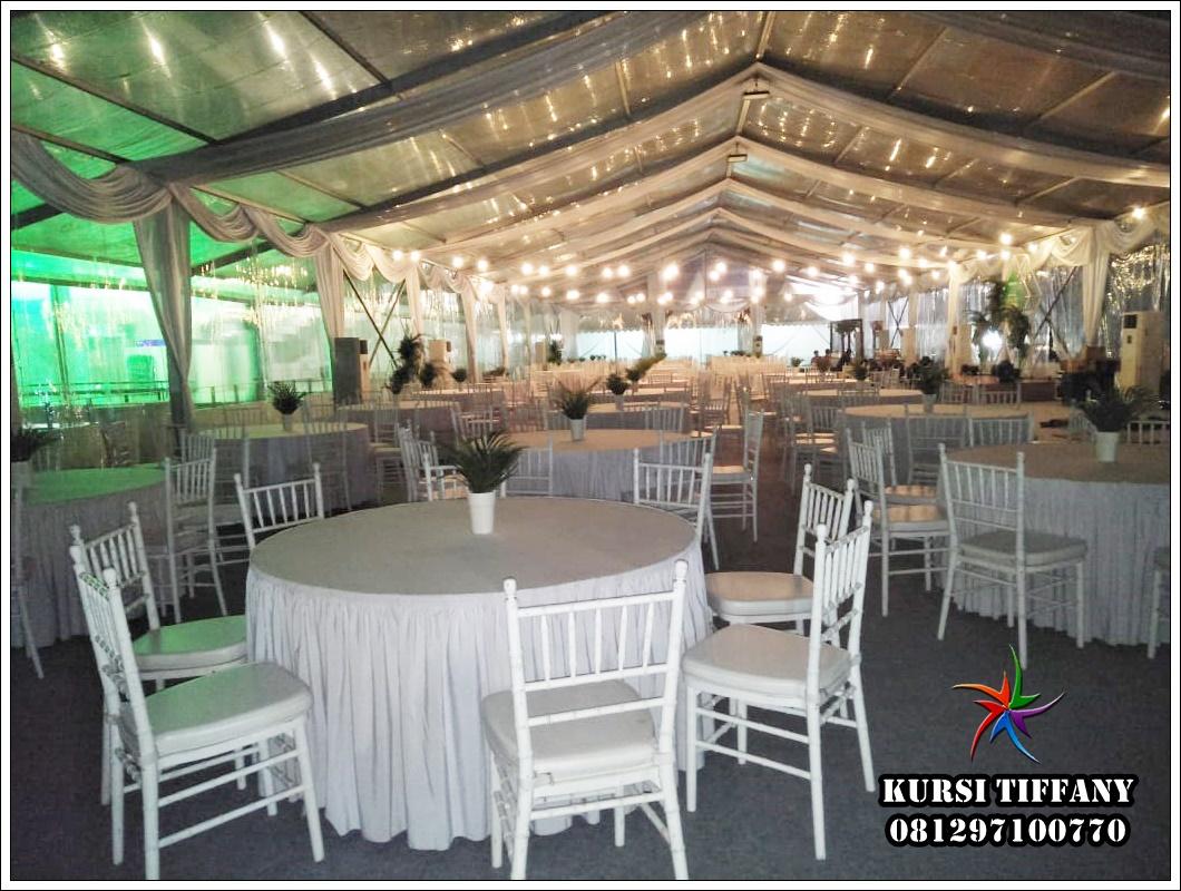 Pusat Sewa Kursi Tiffany Putih Promo Gratis Ongkir Bekasi