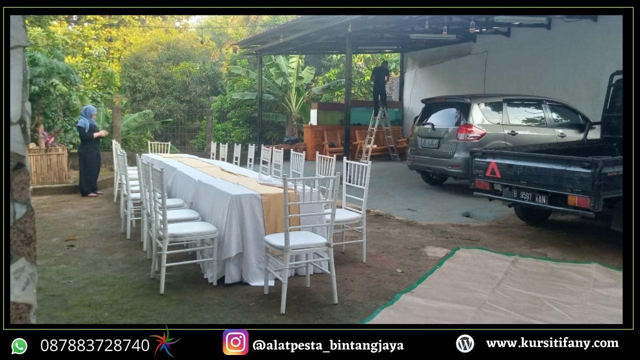 Sewa Kursi Tiffany Mewah Wilayah Jatikramat