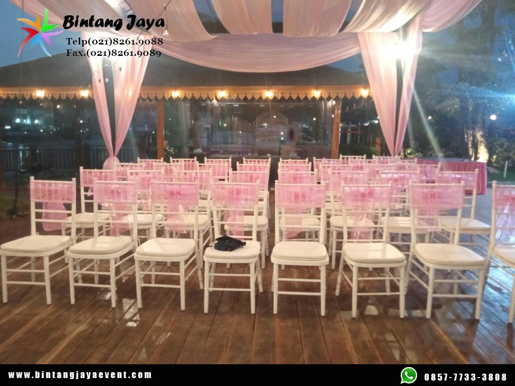 Sewa Kursi Tiffany + Pita Promo Ramadhan Meriah